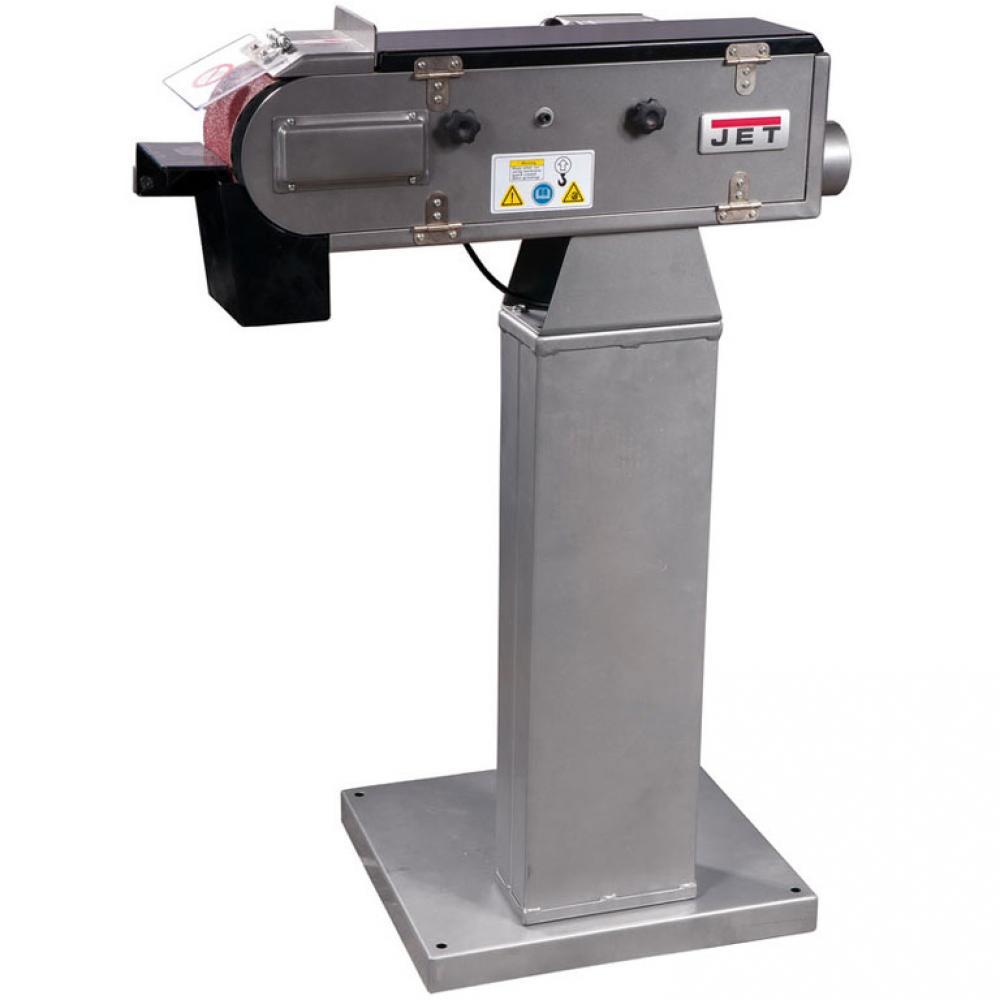 Ленточный шлифовальный станокJetJBSM-100