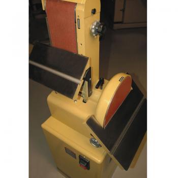 Тарілчасто-стрічковий шліфувальний верстатJetPowermatic 31A (220В) - slide2